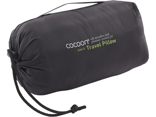 Cocoon Travel Pillow S, charcoal/smoke grey